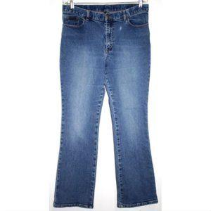 Vtg New York Jeans Womens Sz 14 Blue Wash Boot Cut